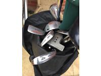 Golf bag full of clubs for sale