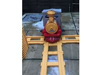 Ride on express train by Peg Perego with track