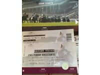 Cheltenham Festival tickets for Tuesday and Wednesday including racecard