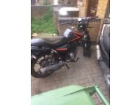 KEEWAY RK 125CC CHEAP £70 TO REPAIR