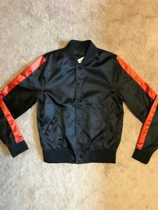 UNWORN Tiger of Sweden Satin Bomber Jacket
