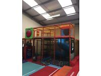Indoor Soft Playframe, for use inside as a sole frame or can be added to existing frames