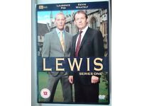 """For Morse lovers - 5 Boxed Sets of """"Lewis"""" - Series 1-5 Complete and in Excellent Condition"""