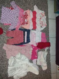 Bundle of Clothes 0-6 months