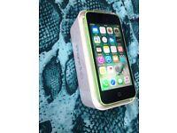 Iphone 5C 16GB Unlocked with Box