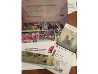 2017 Army vs Navy rugby tickets (SOLD OUT)
