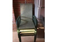 Garden Dining Table & 4 chairs