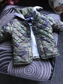 Baby boys next coat