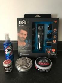 Men's Braun 9 in 1 MGK3080 Multi Groomer & Hair Products