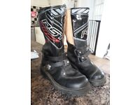 Moto x boots junior size 37 and size 35