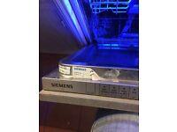 Siemens dishwasher, intergrated FREE