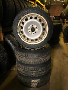 205 50R 55R 17 CHAMPIRO ICE PRO WINTER SNOW TIRES & RIMS 5X120 BOLT 11/32NDS GMC CHEV ACURA BMW LANDROVER