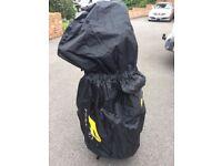 Powakaddy golf bag rain cover.