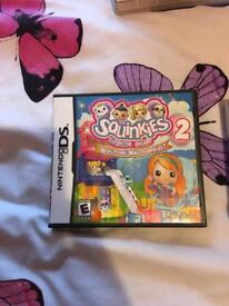 Squinkies 2 DS Game for sale