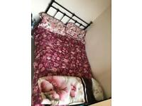 Small double bed inc mattress