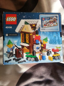 Limited edition Lego christmas sets 40106 & 40107