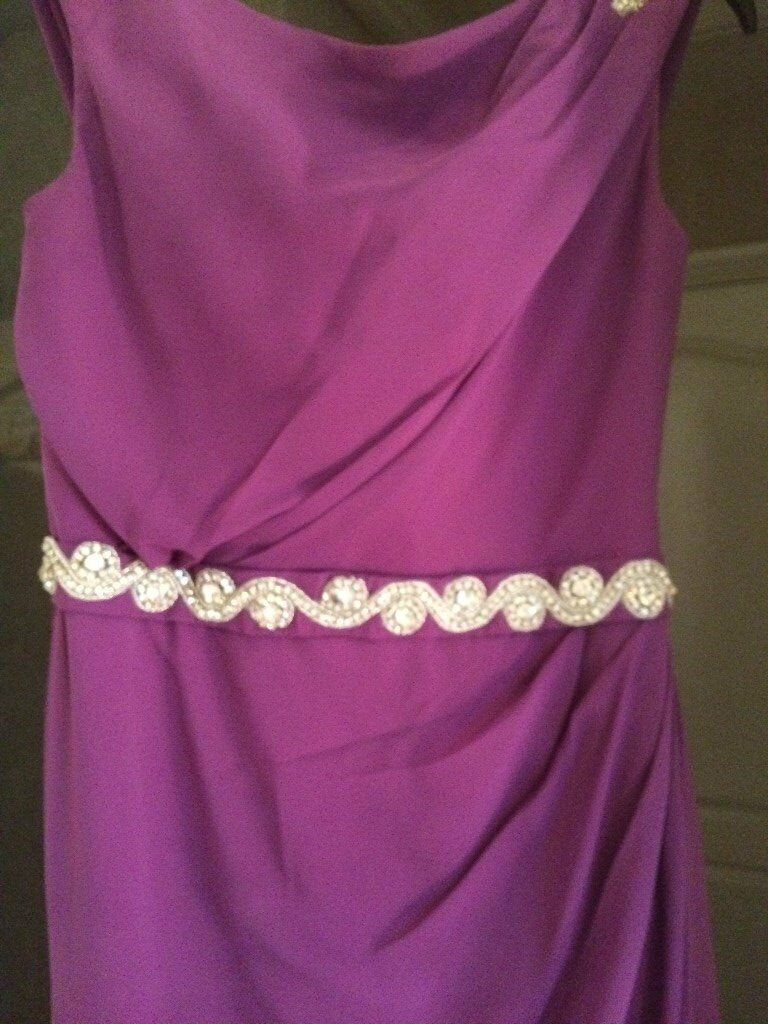 Purple bridesmaid dresses x 2 sizes 10 & 12 | in Westhoughton ...