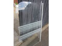Bath / Shower Screen - Tempered glass - NEW / unused but no fixings - FREE FREE collect only