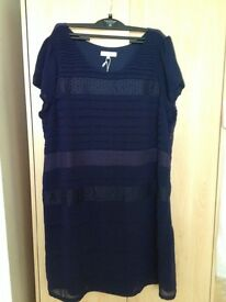 Ladies navy dress
