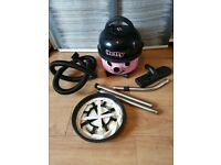 NUMATIC HETTY 2 SPEED VACUUM CLEANER WITH CARPET TOOL