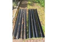 **Sold pending collection Saturday **8x 2m lengths of square plastic gutter