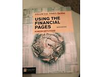 Using the financial pages