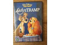 Disney DVD- lady and the tramp