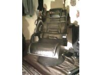 X rocker gaming chair spinning one 300 pound to buy brand new not long ago