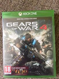 GEARS OF WAR 4 BRAND NEW AND SEALED