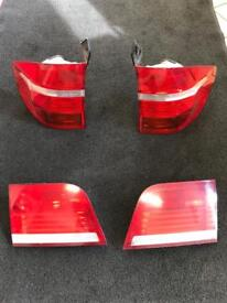 BMW X5 rear lens complete set