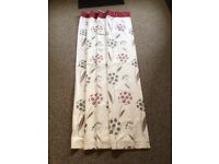Two pair of curtains for sale