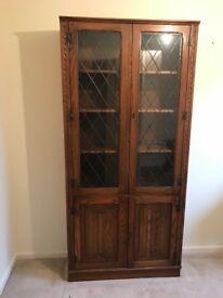 Lockable door cabinet