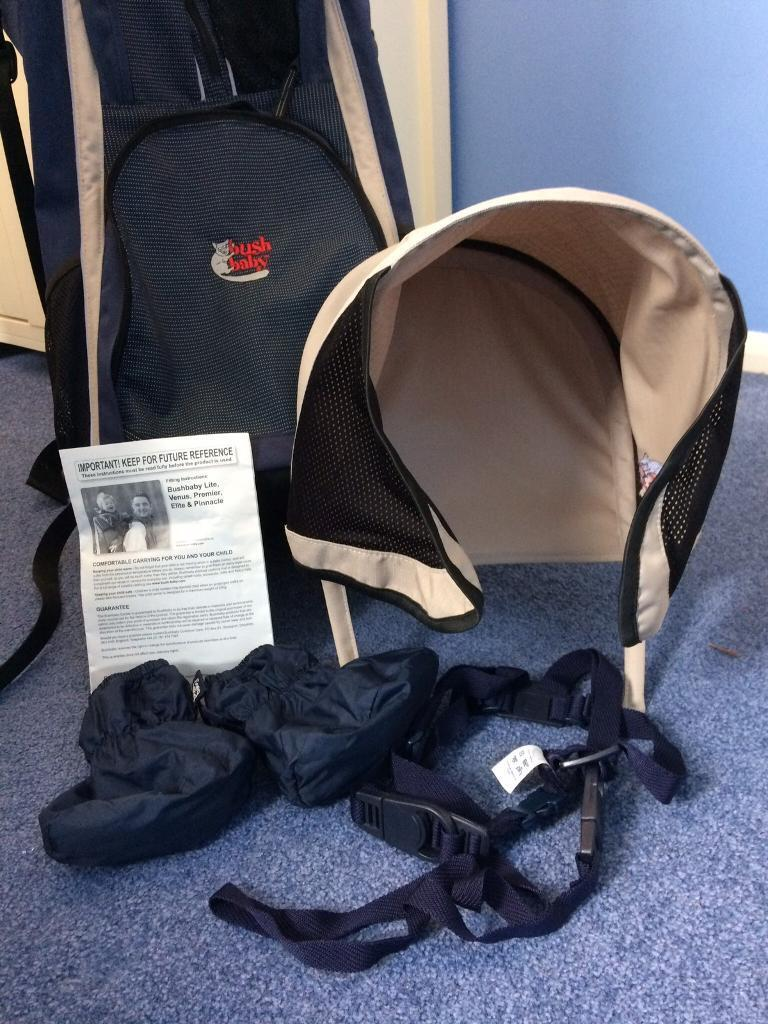 15bb7dde67f8 Bush Baby Premier Back Carrier