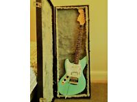 Fender Jag-Stang Electric Guitar, Strap, Case & Strings VERY RARE AND GREAT CONDITION