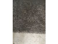 Speckled brown rug