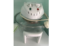12L Halogen Oven - Family size - PROlectix - with operatin guide and cookbook