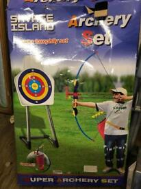 Good Quality Kids Archery Set - As New In Box