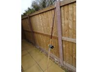 12ft beach casting rod and reel