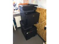 Dell H625cdw printer (2 available)