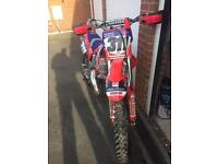 Cr 125 swaps for 250f or cash