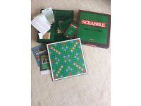 Deluxe Scrabble set (NEW)