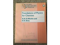 """OCP """"Foundations of Physics for Chemists"""" - RITCHIE/SIVIA - ISBN 0198503601"""