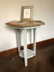 Honeycomb / Beehive Console Table