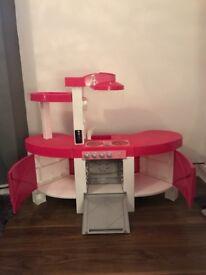 Kids barbie kitchen