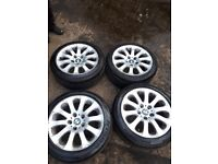 "Bmw 5x120 alloy wheels 17"""