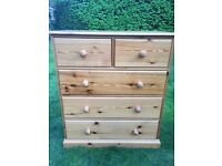 Tots to teens chest of drawers 105cm (H) x 91cm (W) x 45cm (D)