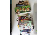 Lots of postcards