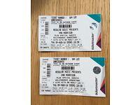 2 tickets for Van Morrison @ Kelvingrove Bandstand