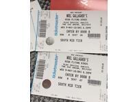 Noel Gallagher,, x2 ,,, good seats ,, belfast,,