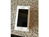 iphone 6 in gold - minor crack to screen